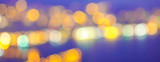Abstract background selective focus bokeh lights of Holiday Christmas New Year - 219708228