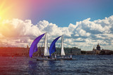 regatta competition in Saint-Petersburg - 219708620