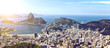 Quadro view of the Rio de Janeiro