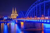 Köln, Dom und Hohenzollernbrücke - 219717250