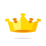 Crown vector isolated illustration - 219738462