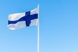 Flag of Finland or Blue Cross Flag - 219745669