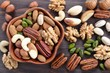 Mix of nuts. - 219751498