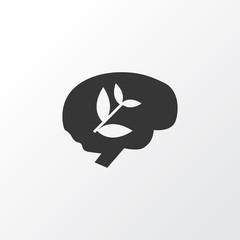 Brain work icon symbol. Premium quality isolated creative element in trendy style. © iconvectorstock