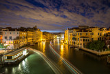 Canal Grande at night, Venice, Italy. - 219759074