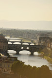 Bridges in sunset. Florence, Italy - 219775652