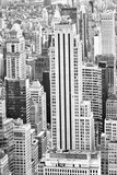 View of Manhattan from the skyscraper's observation deck. New York. - 219776437