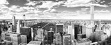 View of Manhattan from the skyscraper's observation deck. New York. - 219776447