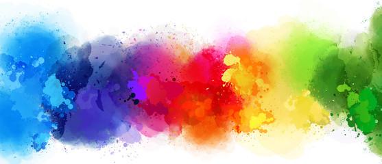 colorful splash background © HeGraDe