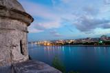 view of habana city at evening
