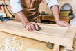 detail of carpenter at work - 219806281