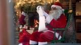 Santa claus reading his special list - 219814629