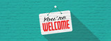 We're welcome - 219835691