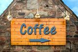 Schild 303 - Coffee