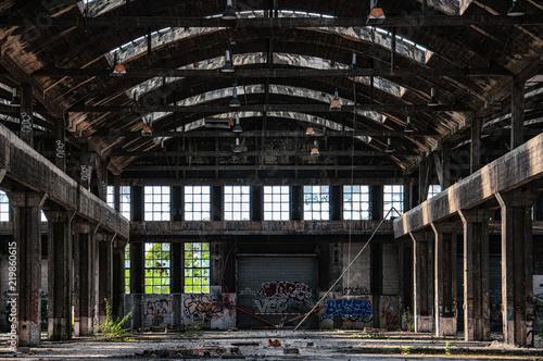 Foto Murales Entrepôt abandonné 2