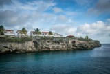 sailing around the west coast of  Curacao Views in the caribbean - 219861214