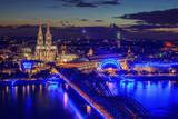 Blick auf Köln, Deutschland - 219867007