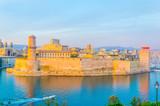 Fort Saint Jean at Marseille, France - 219887081