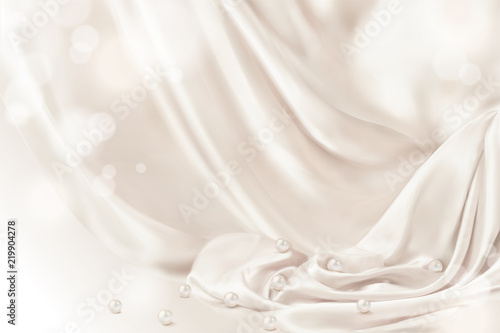 Smooth drapery background