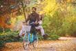 Quadro Couple enjoying fall