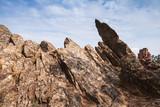Dark rocks of Calanques de Piana - 219922436