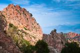 Calanques de Piana. Mountain landscape - 219922451