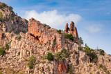 Calanques de Piana. Mountain landscape - 219922455