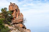 Calanques de Piana are Corsican rocks - 219922490