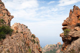 Landscape of Calanques de Piana. Corsica - 219922495