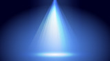 Abstract blue light and shade creative background. Vector illustration. - 219925433