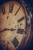 Vintage analogue wall clock - 219930074