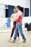 Dancers on kizomba rhythm making the most out of it. Enjoying the moment - 219939057