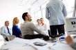 Coworkers learning at seminar - 219952444