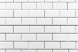 Background from a white tiled wall