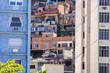 Quadro slum in Copacabana Babylon