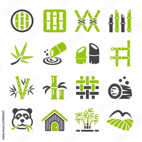 bamboo icon set