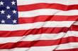 Leinwanddruck Bild - USA flag