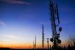 Quadro Comunicare al tramonto