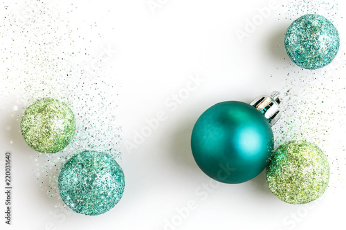 Beautiful Colorful Modern Christmas Holiday Ornaments Decorations
