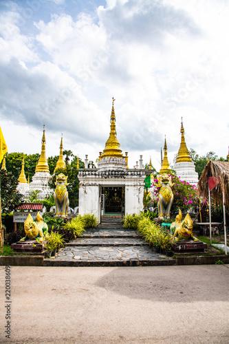 Chedi Sao Lang temple in Lampang province