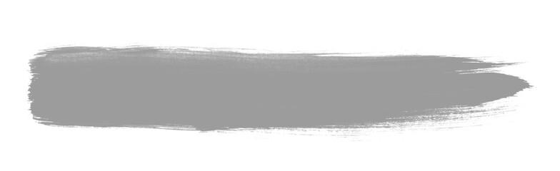 Hellgrauer schnell gemalter Pinselstreifen © kebox