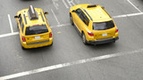 Taxi from above, New York City - 220060817