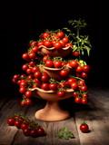 Natura morta con ciliegino di Pachino - 220073844