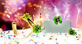 card happy new year  - 220091844