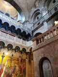 Interior of the Church of the Holy Sepulchre in the Old Town of Jerusalem, Israel - 220113098