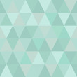 Very light seamless pattern of triangles of cold winter hues