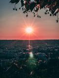 Sonnenuntergang Villa Reitzenstein
