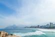 Quadro Paysage Voyage Brésil plage Rio de Janeiro Leblon Copacabana  Ipanema