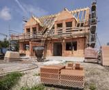 Neubau und Rohbau von einem Doppelhaus - 220136466
