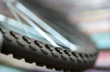 A fragment of a Bicycle wheel - 220146865
